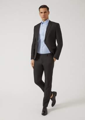 Emporio Armani Suit In Silk Blend