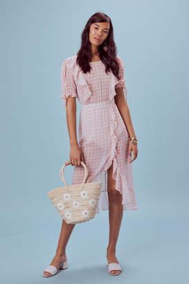 For Love & Lemons Dorothy Midi Dress