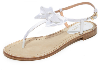 Kate Spade New York Serrano Bow Sandals $138 thestylecure.com