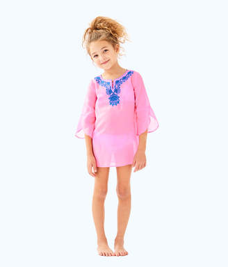 Lilly Pulitzer Girls Mini Piet Cover Up