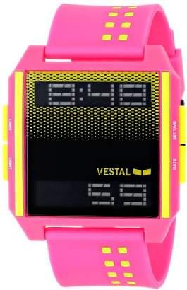 Vestal Men's DIG030 Digichord Digital Display Japanese Quartz Pink Watch