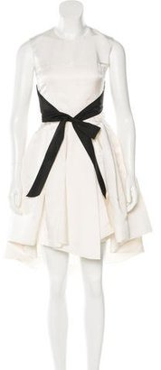 Christian Dior Sleeveless Pleated Dress $1,495 thestylecure.com