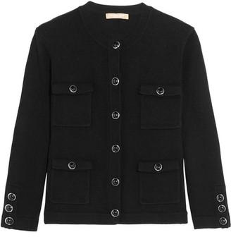 Michael Kors Collection - Cashmere Cardigan - Black $995 thestylecure.com