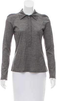 Max Mara Long Sleeve Wool Top w/ Tags