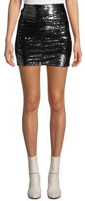 IRO Dreaming Sequined Mini Skirt