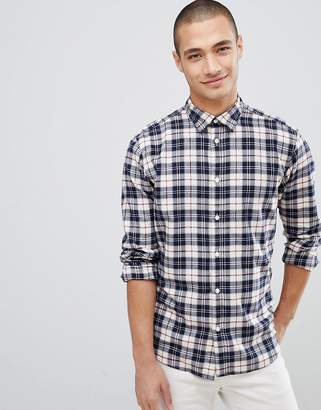 Selected Check Shirt In Slim Fit