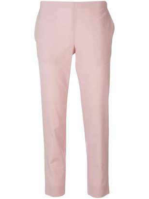 6397 Plain Cropped Trousers