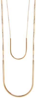 EDDIE BORGO Allure gold-plated necklace $300 thestylecure.com