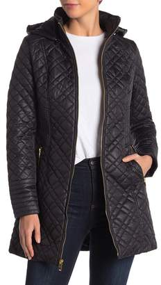 Via Spiga Quilted Long Jacket