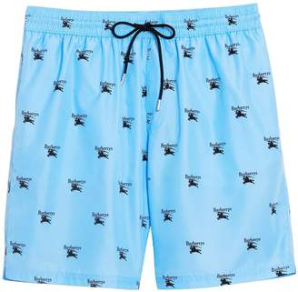 Burberry Archive Logo Drawcord Swim Shorts