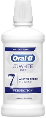 Oral-B Oral B 3D White Luxe Perfection Mouthwash 500Ml