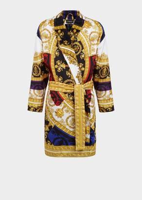 Versace Silk I Baroque Bathrobe
