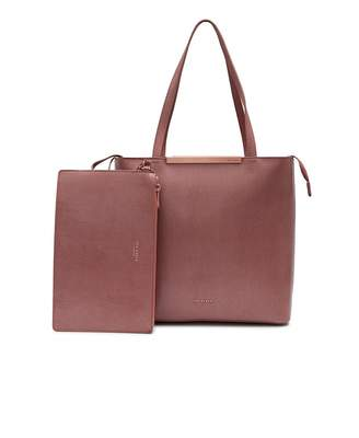 Ted Baker Structured Leather Shopper Bag