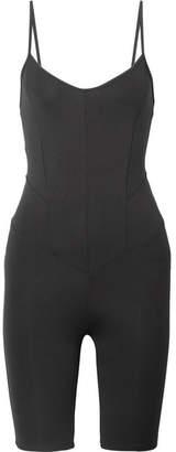 Live The Process Corset Stretch-supplex Bodysuit