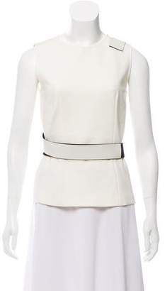 Cédric Charlier Structured Sleeveless Top w/ Tags