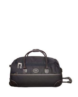 "Bric's Black Pronto 21"" Rolling Duffel Luggage"