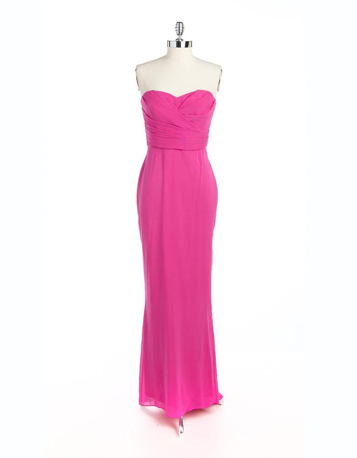 Jill Stuart Strapless Maxi Dress