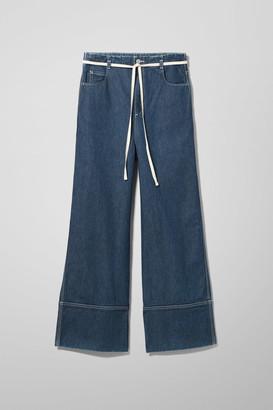 Weekday Slack Harbour Blue Jeans - Blue