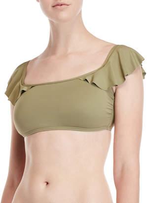 Vince Camuto Ruffled Bikini Top