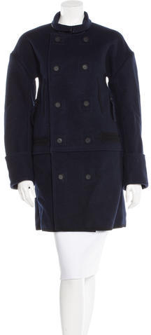 Balenciaga Balenciaga Wool Double-Breasted Coat