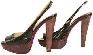 Miu Miu Leather heels