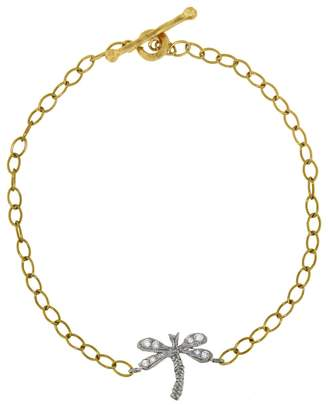 Cathy Waterman Dragonfly Bracelet