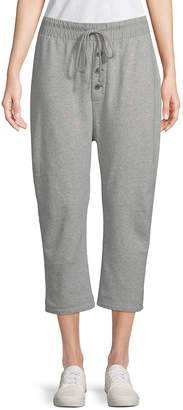 James Perse Slouchy Cropped Sweatpant