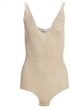 Brunello Cucinelli Glitter Bodysuit