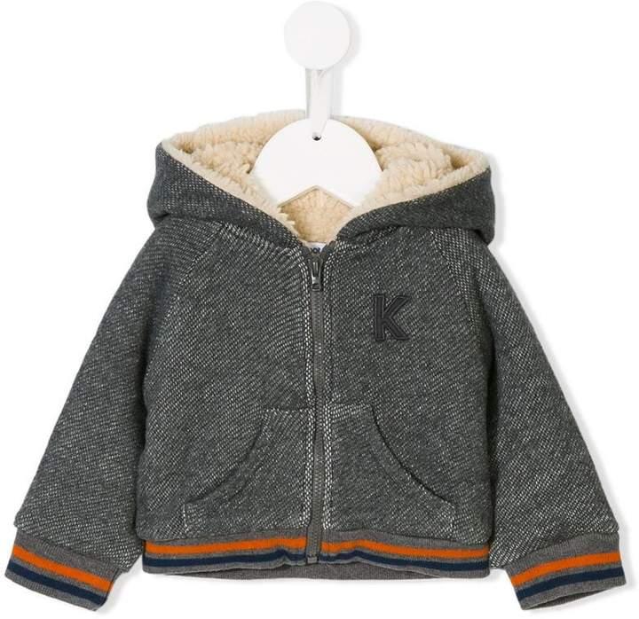 Knot fleece-lined jacket