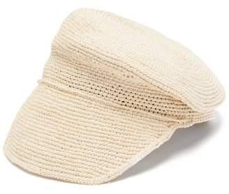 Sensi Studio - Crochet Straw Cap - Womens - Ivory