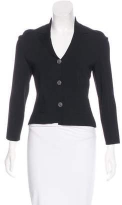 Chanel Wool Knit Blazer