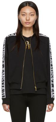 Versace Black Logo Tape Jacket