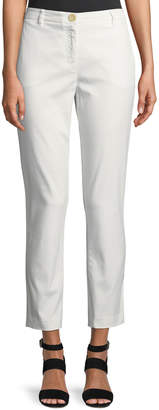 Modern American Designer Trouser-Fit Chino Pants