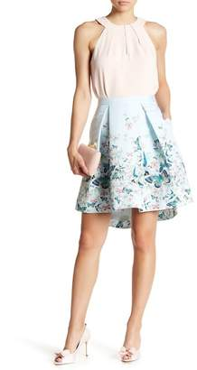 Ted Baker Reylia Floral Pleated Skirt