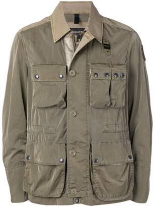 Blauer cargo pocket military jacket