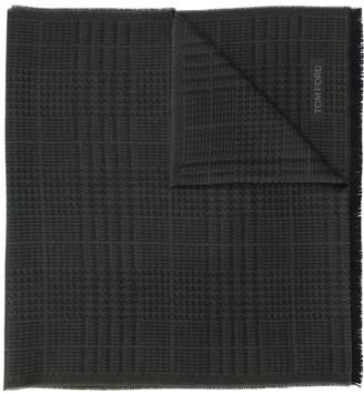 Tom Ford houndstooth knitted scarf