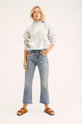 Citizens of Humanity Estelle Embroidered Flare Jeans