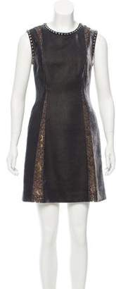 Alberta Ferretti Velvet Mini Dress