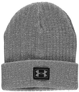 Under Armour Kids Truck Beanie Juniors Pattern Winter Warm Knitted