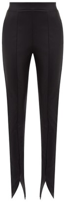Wolford Estella Faux Leather Leggings - Womens - Black
