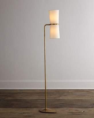 AERIN Clarkson Brass Floor Lamp