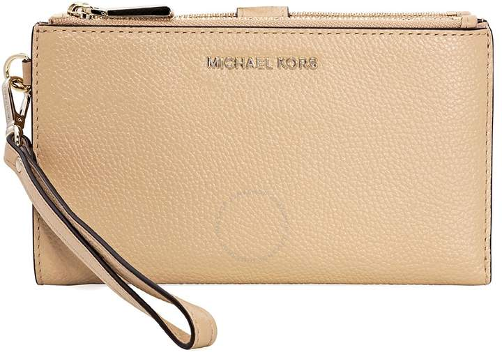 2eb245530910 Michael Kors Adele Leather Smartphone Wristlet- Butternut - ONE COLOR -  STYLE
