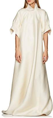 The Row Women's Alba Silk Mikado Voluminous Gown - Natural