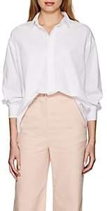Katharine Hamnett Women's Nicola Cotton Poplin Oversized Blouse - White