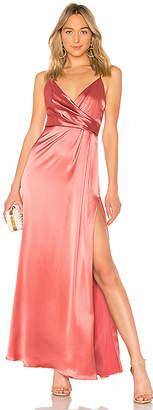 Jill Stuart Wrap Gown