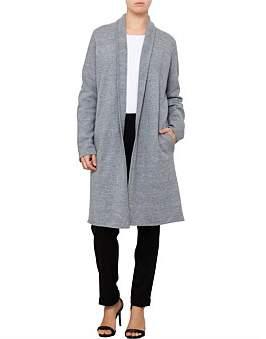 David Jones Shawl Knit Coat