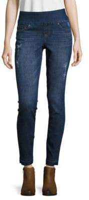 True Religion Cora Embellished Cropped Jeans $269 thestylecure.com