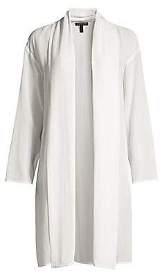 Eileen Fisher Women's Sheer Kimono Jacket