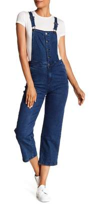 Cotton On & Co. Cropped Overall Jeans