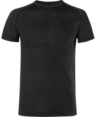 Falke Ergonomic Sport System Mélange Wool And Silk-Blend Running T-Shirt